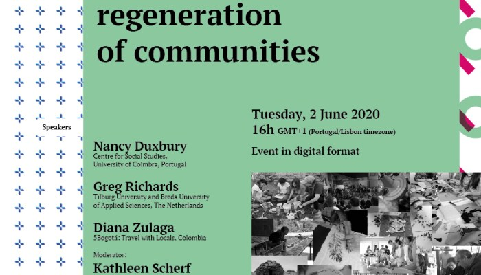 So, What's Next? The Role Of Creative Tourism In The Regeneration Of Communities