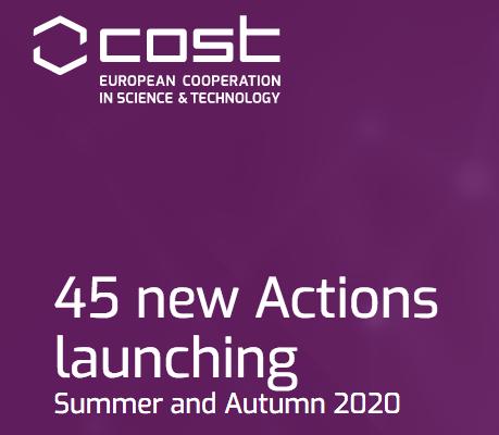 A European Cooperation In Science & Technology (COST) Lançou No Passado 24 De Ma…