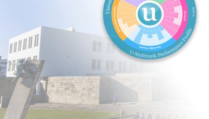 A UMinho Obteve Nota Máxima Em Onze Indicadores Do Ranking Global U-Multirank 20…