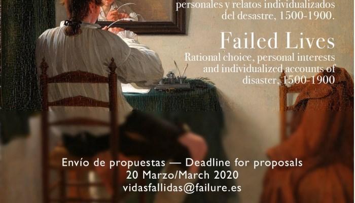 Está A Decorrer Online Workshop Internacional «VIDAS FALLIDAS. Elección Racional…