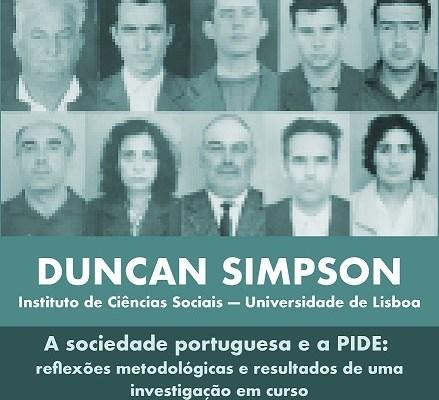 O Investigador Do ICS Duncan A. Simpson é O Orador Na Conferência J.Medeiros Fer…