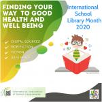 Outubro – Mês Internacional Da Biblioteca Escolar: Descobrir Caminhos Para A Saúde E O Bem-estar : Notícia BAD