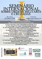 HOJE às 19h  I Seminário Internacional Sobre Ordens Militares E Cruzadas        …