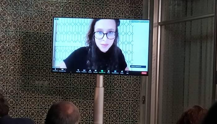 Helena Martins  Da Google-Portugal, No Uso Da Palavra Durante A Apresentação Do …