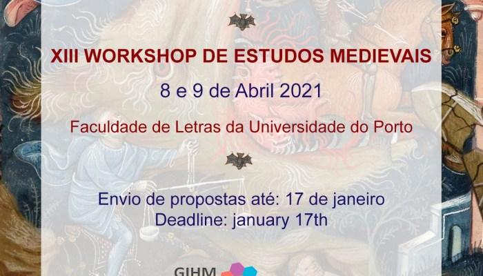 Estão Abertas As Inscrições Para A 13ª Edição Do Workshop De Estudos Medievais, …