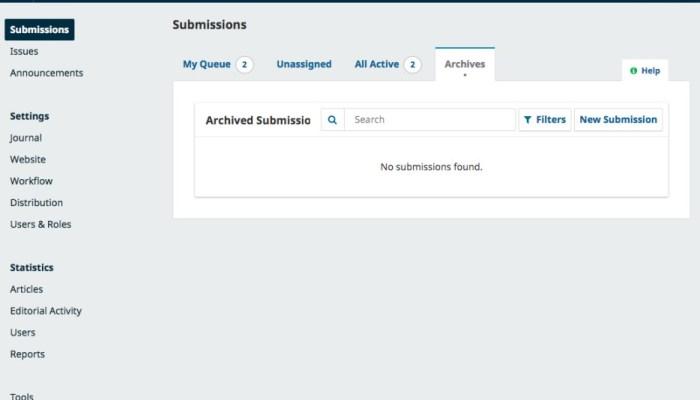 OJS, OMP E OPS Versão 3.3 Candidata – Webnucleo