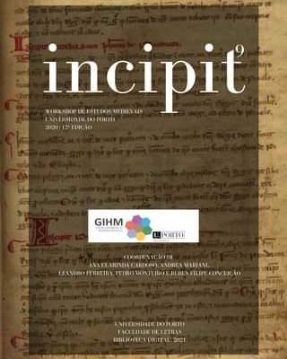 A Nona Edição Da Incipit, Que Reúne Os Trabalhos Apresentados E Comentados No Wo…