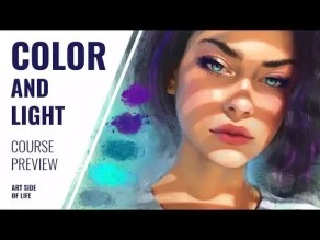 Storytelling with Color and Light Course - Art Side of Life