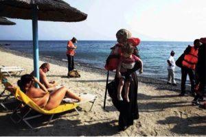 De toerist en de vluchteling