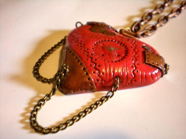 Steampunk Heart Mini Art