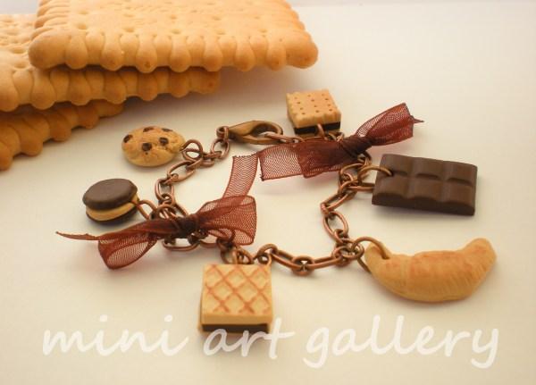 Mini Food Bracelets Art