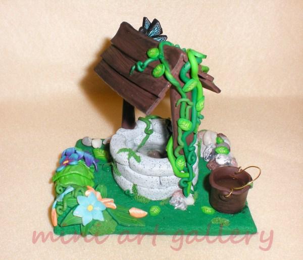 Wishing Handmade Sculpture Polymer Clay Resin