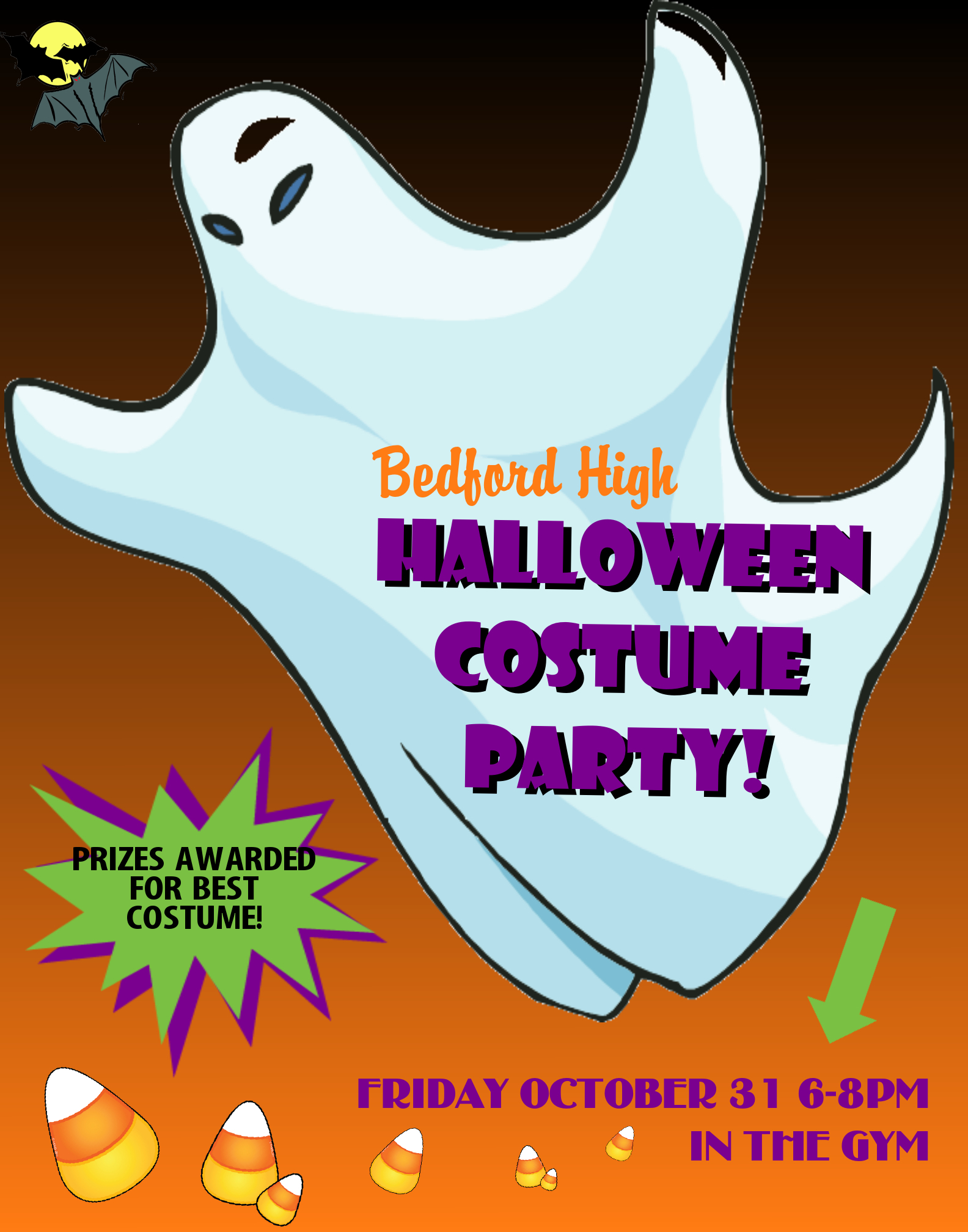 Create A Poster About A Halloween Costume Party