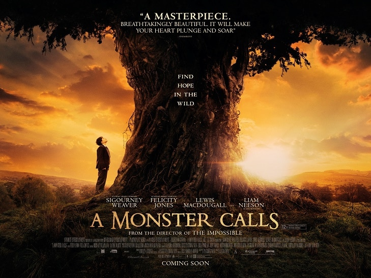 a-monster-calls movie poster ArtsMR