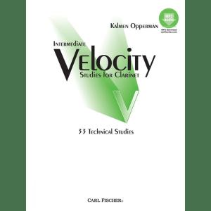 opperman intermediate velocity studies clarinet