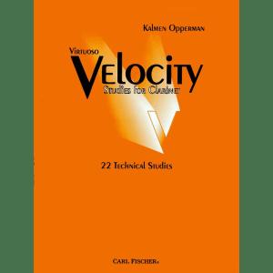 opperman virtuoso velocity studies clarinet