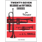 small-27 melodious-rhythmical studies for trumpet