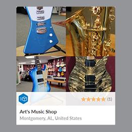 art's music shop reverb shop