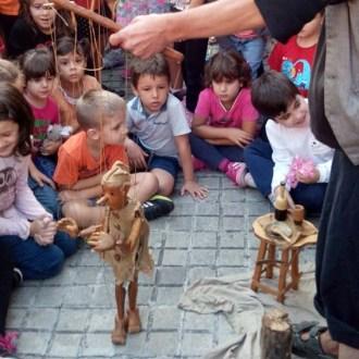 """""""Titinerant"""". Marionetas Pepe Otal. Titellada 2014"""