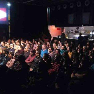 Públic de l'estrena del Ròmbic 2015