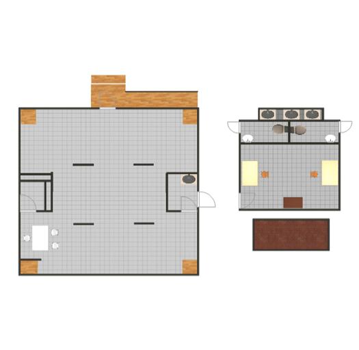 Plan View Of Gallery Secretariat