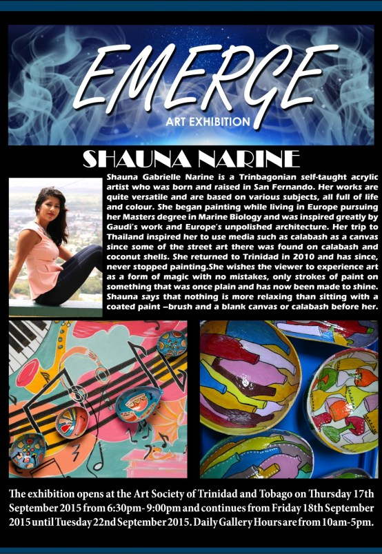 Emerge art Exhibation pr6(Shauna Gabrielle Narine )