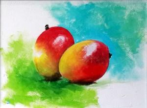 Julie mangoes - Joelle Blanc