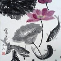 Lotus and Fish By Kenny Yan Wen Yu
