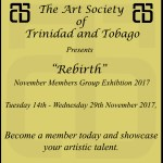 "ASTT Announces ""Rebirth"" The 2017 November Members Group Exhibition"
