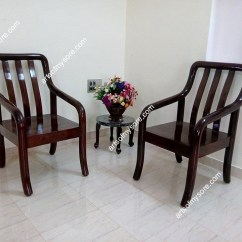 Chair Design With Handle Wooden Office Chairs On Wheels Arts Of Mysore Rosewood Furniture Circular Set
