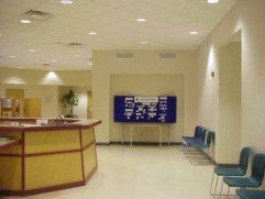 Southern Human Services Center Hallway