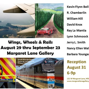 Artist Reception for Wings, Wheels and Rails