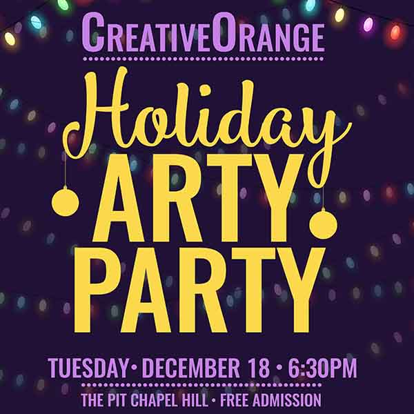 CreativeOrange Holiday ArtyParty Tuesday, December 18