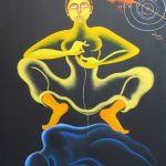 Between Dualities- Day & Night by Arpana Caur
