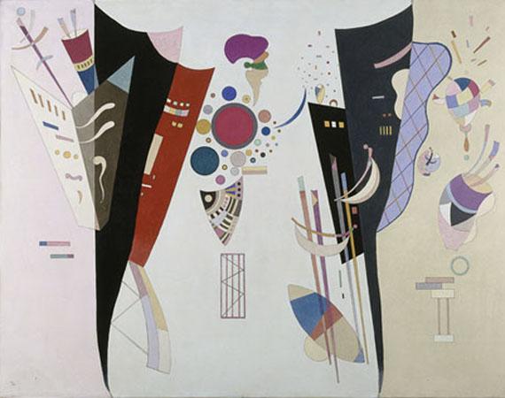 Accord Réciproque, 1942 Huile et ripolin sur toile Paris, Centre pompidou