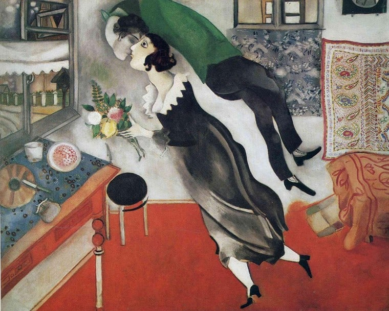 """The Birthday"" Marc Chagall, 1915"