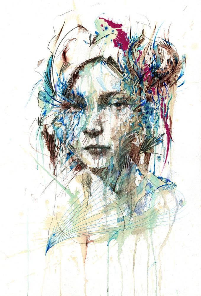 Range of Arts - Painting - Carne Griffiths - Unveil