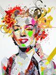 Range of Arts - Painting - Pinar Du Pre - Marilyn I