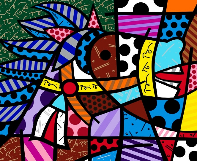 Range of Arts - Romero Britto - Fine Art Prints - Cavallo
