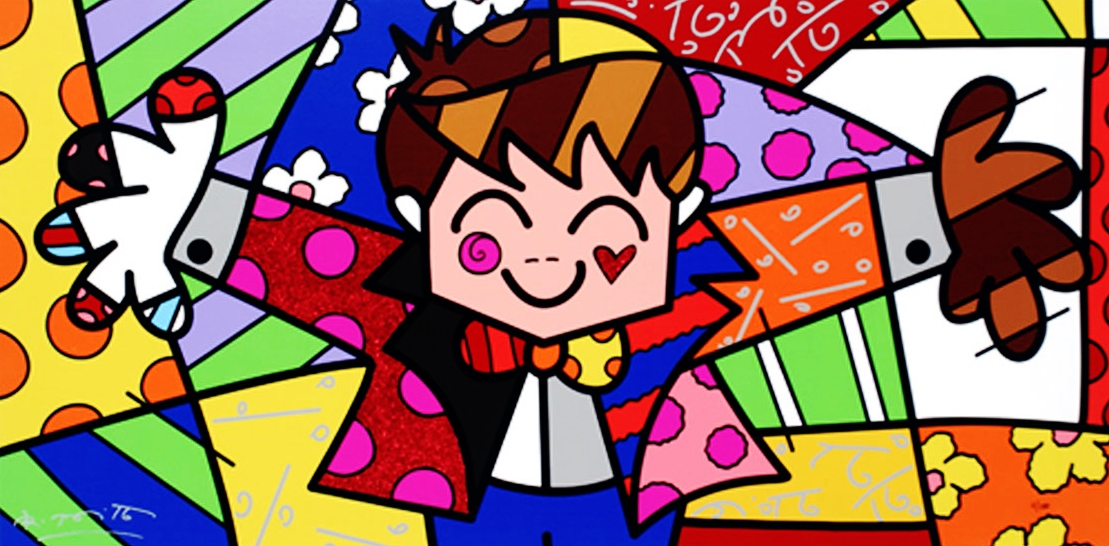 Range of Arts - Romero Britto - Fine Art Prints - Hug Too