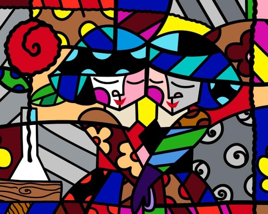 Range of Arts - Romero Britto - Fine Art Prints - Sisters