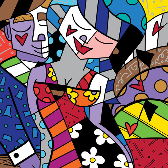 Range of Arts - Romero Britto - Fine Art Prints - Untitled VI