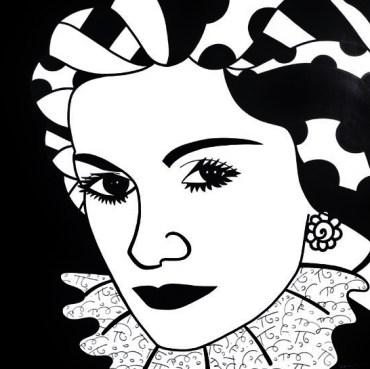 Range of Arts - Romero Britto - Original Portraits Paintings - Coco Chanel