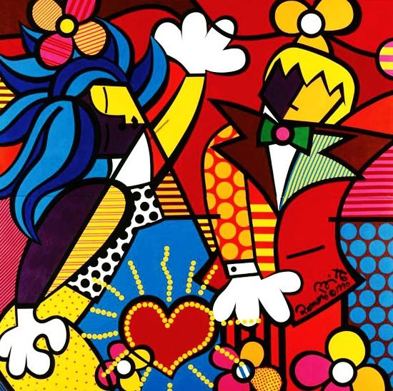 Range of Arts - Romero Britto - Original Artworks - The Good Life