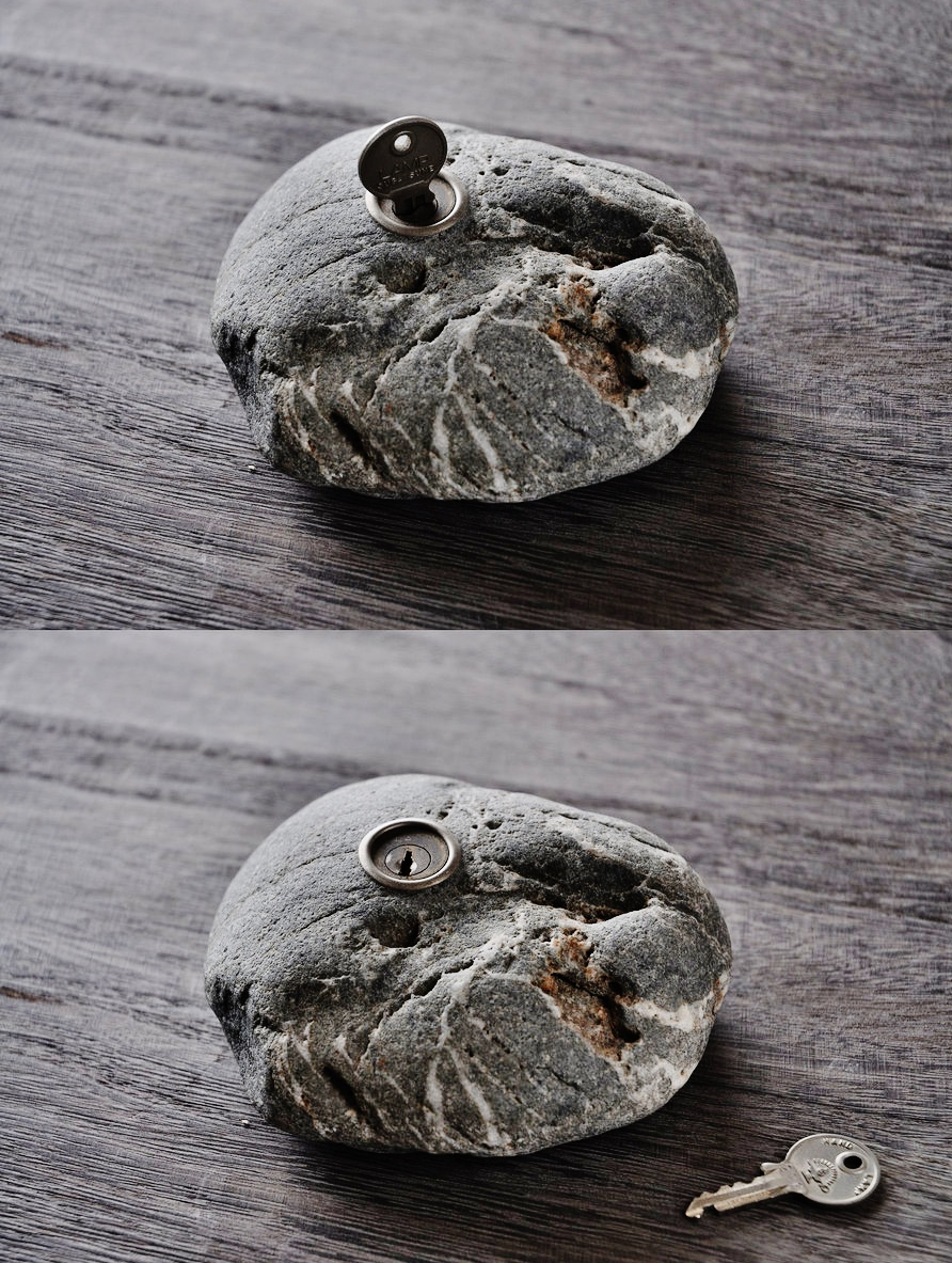 Range of Arts- Sculpture - Hirotoshi Ito - Lock A Rock