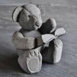 Range of Arts- Sculpture - Hirotoshi Ito - Stone Teddy Bear