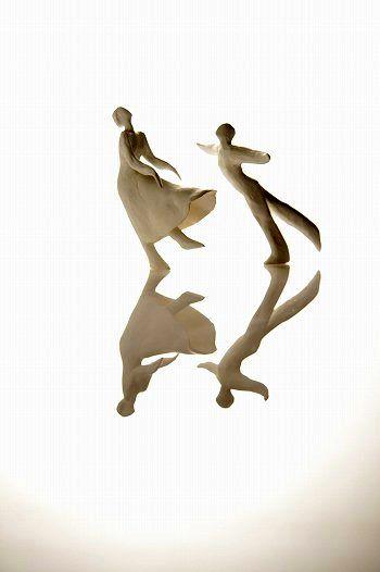 Range of Arts - Sculpture - Kazuhiko Tanaka - Ice Skaters I