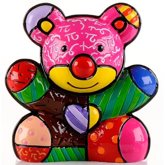 Range of Arts - Romero Britto - Sculpture - Mini Bear