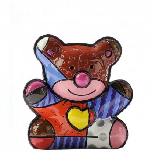 Range of Arts - Romero Britto - Sculpture - Mini Love Bear