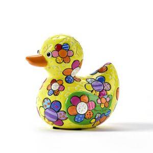 Range of Arts - Sculpture - Romero Britto - Mini Duck Spring